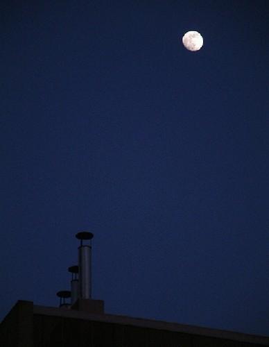 Paisagem Urbana/azul lua