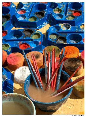 Abstrato/Palete de cores