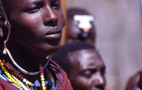 Retratos/Guerreiro Masai