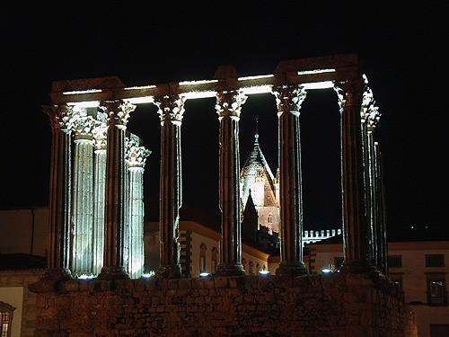 Paisagem Urbana/Templo de Diana