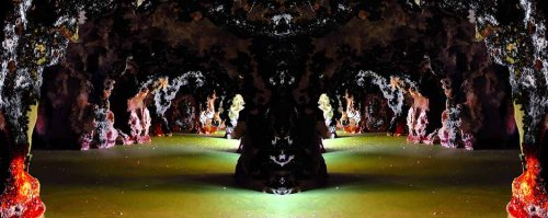 Arte Digital/cave´s on both sides