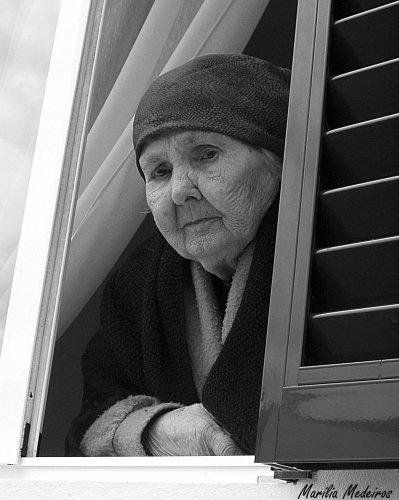 Retratos/Da sua janela...