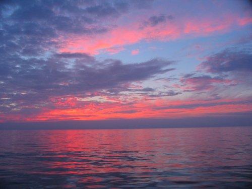 Outros/Pôr-do-sol no Atlântico