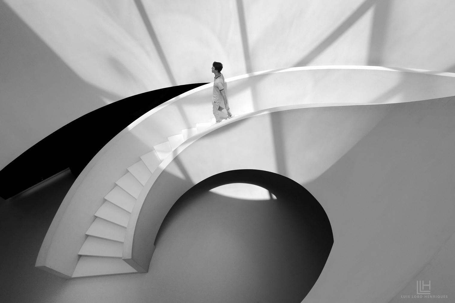 Arquitetura/mapa de uma luz descendente