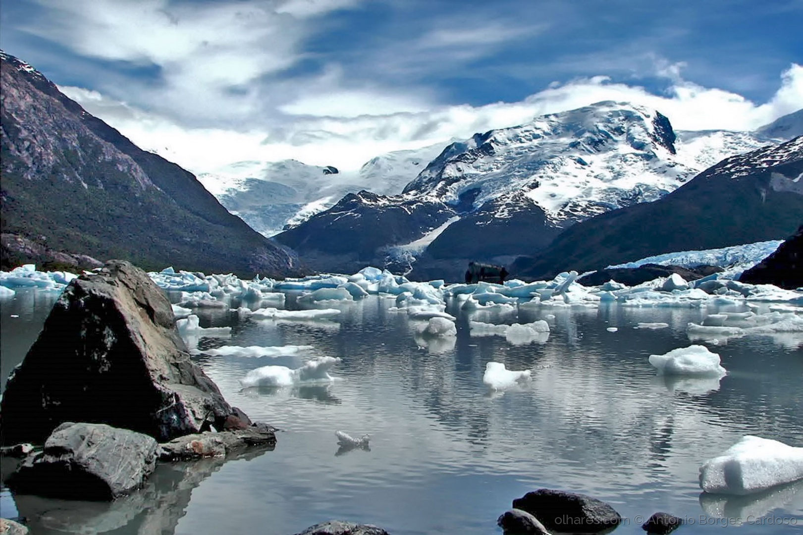 Paisagem Natural/Lago Onelli - El Calafate, Patagónia, Argentina