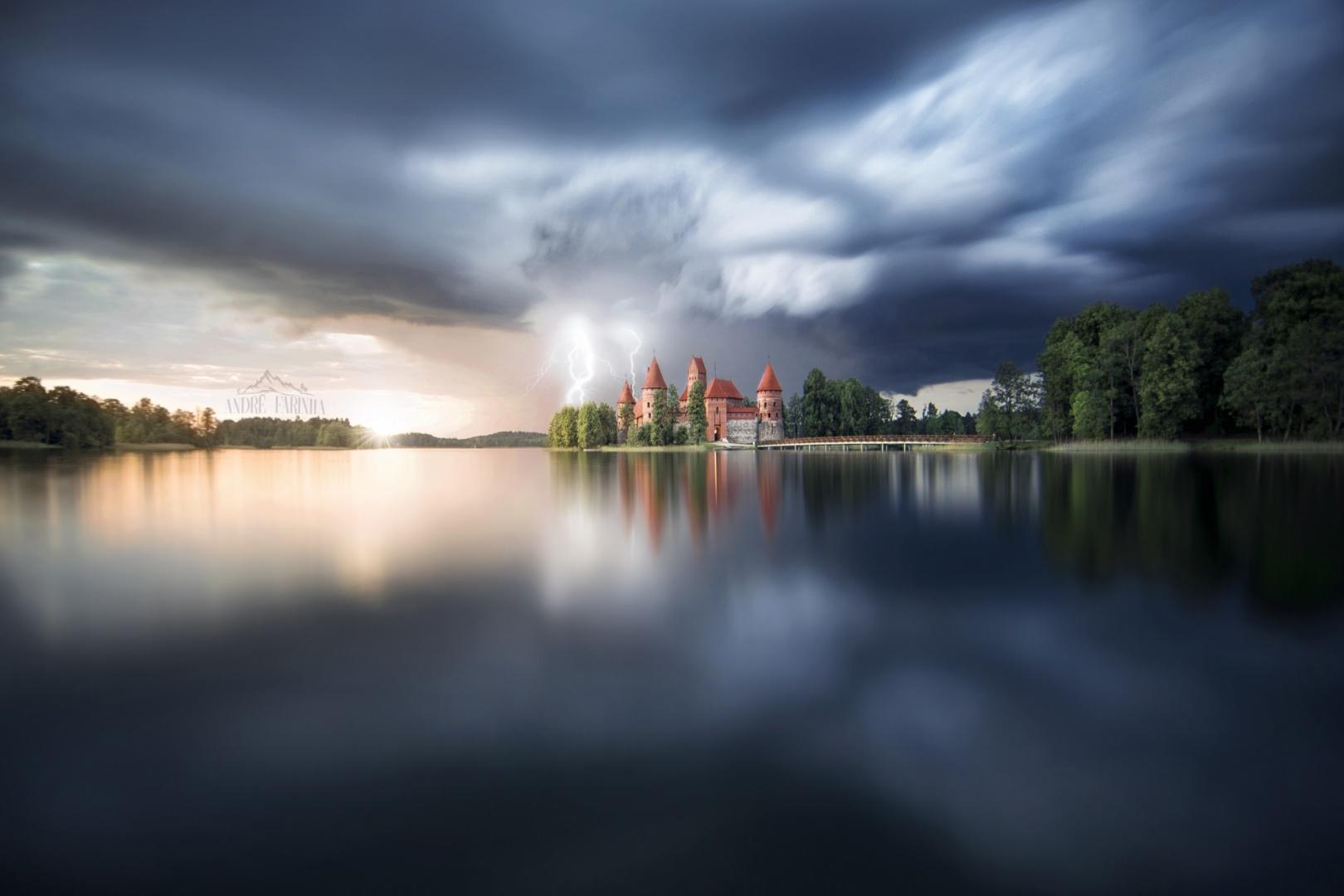 Paisagem Natural/Storm Castle