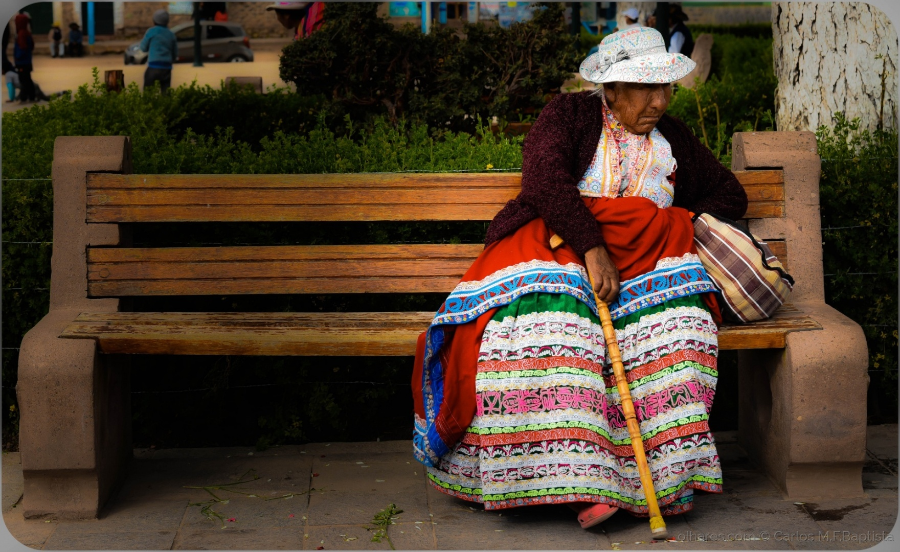 Gentes e Locais/Idosa no Perú