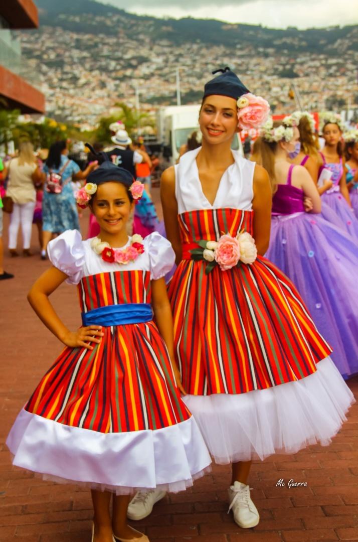 Retratos/Flores da Madeira