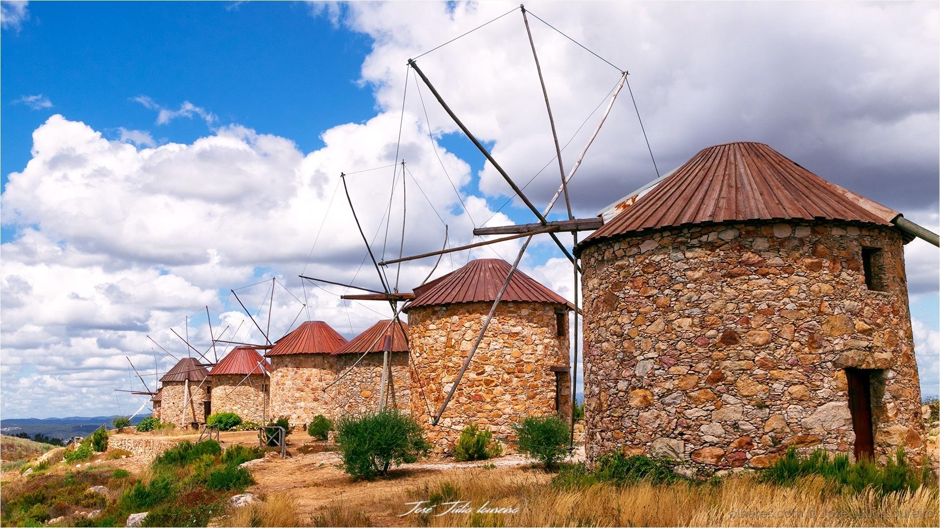 Paisagem Natural/Moinhos de vento
