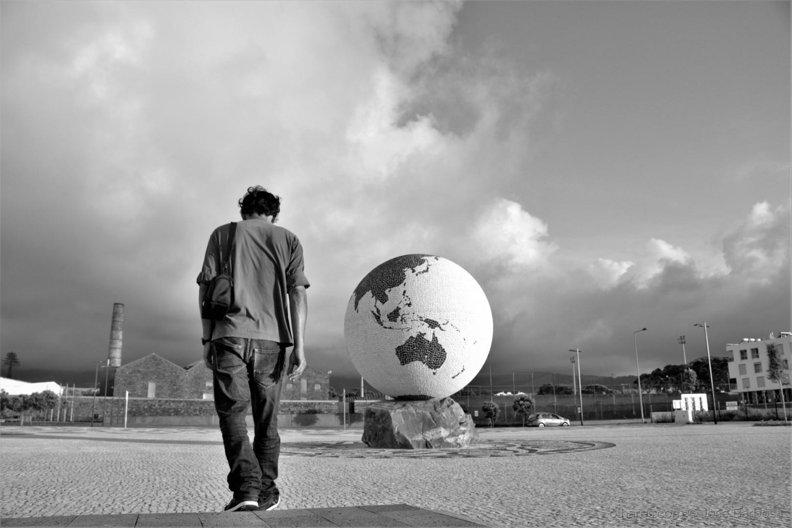 Fotografia de Rua/PAI ! Estou no outro lado do Mundo para te ver