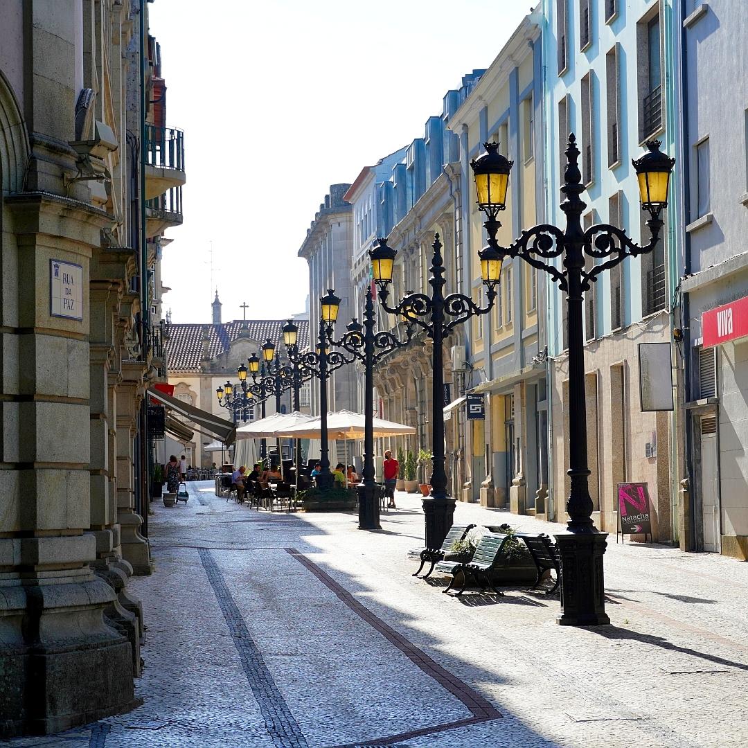 """Paisagem Urbana/""""Rua da Paz."""""""