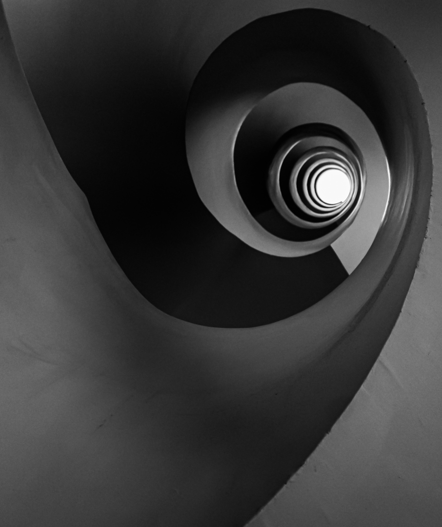 Arquitetura/descida em espiral..