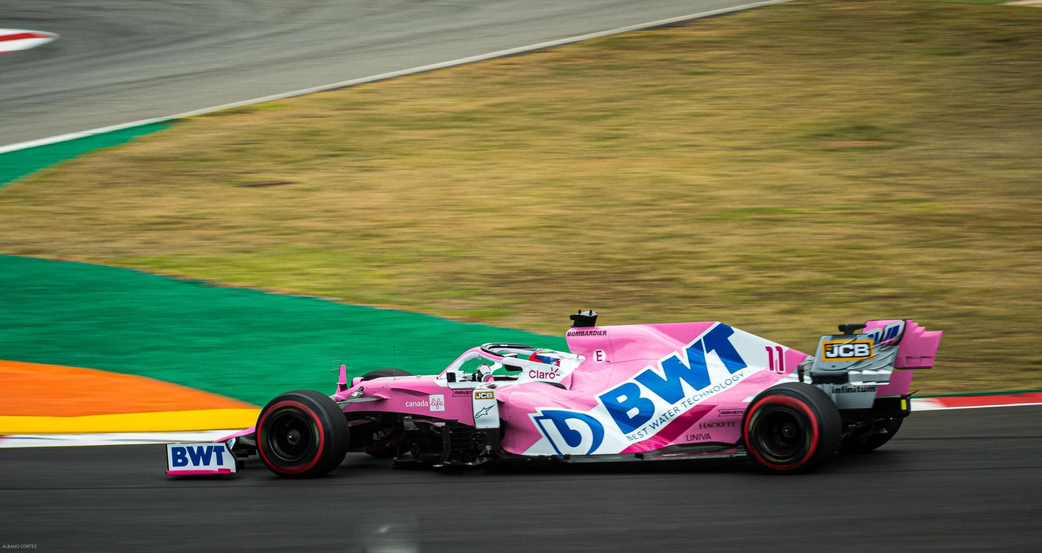 Desporto e Ação/ Sergio Pérez - F1 Driver   Racing Point F1 Team