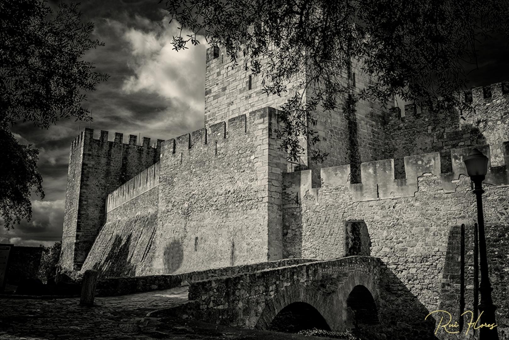 História/Ensaios a P&B #5 - O castelo