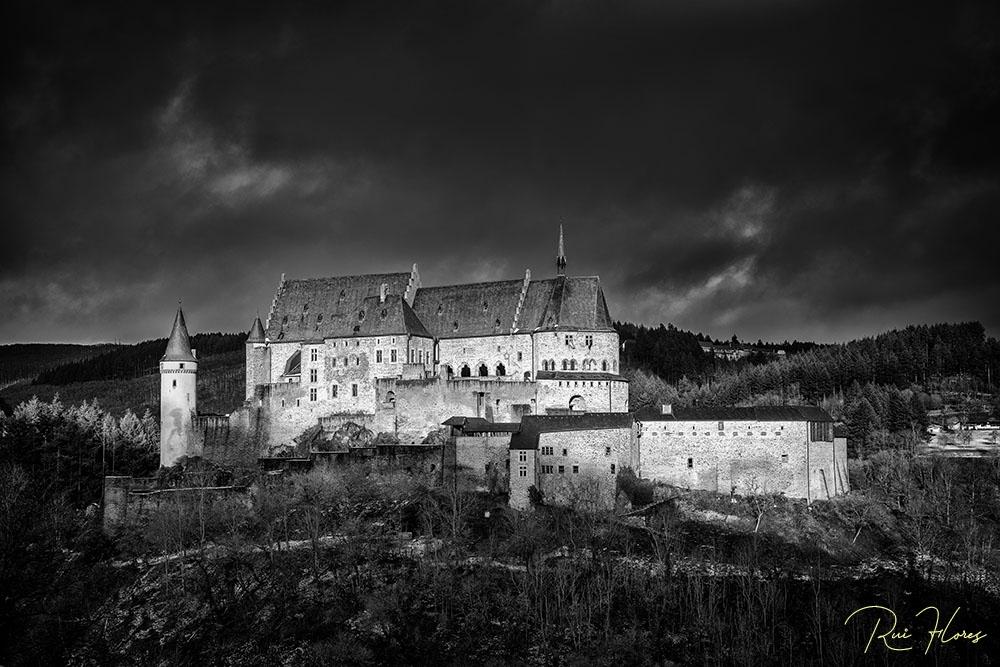 História/Ensaios a P&B #12 - O castelo