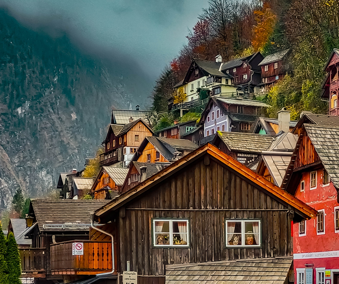 Paisagem Urbana/Hallstatt, aldeia de um conto de fadas!! #6