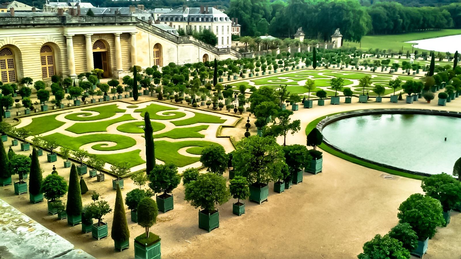 História/Jardins  de Versalles