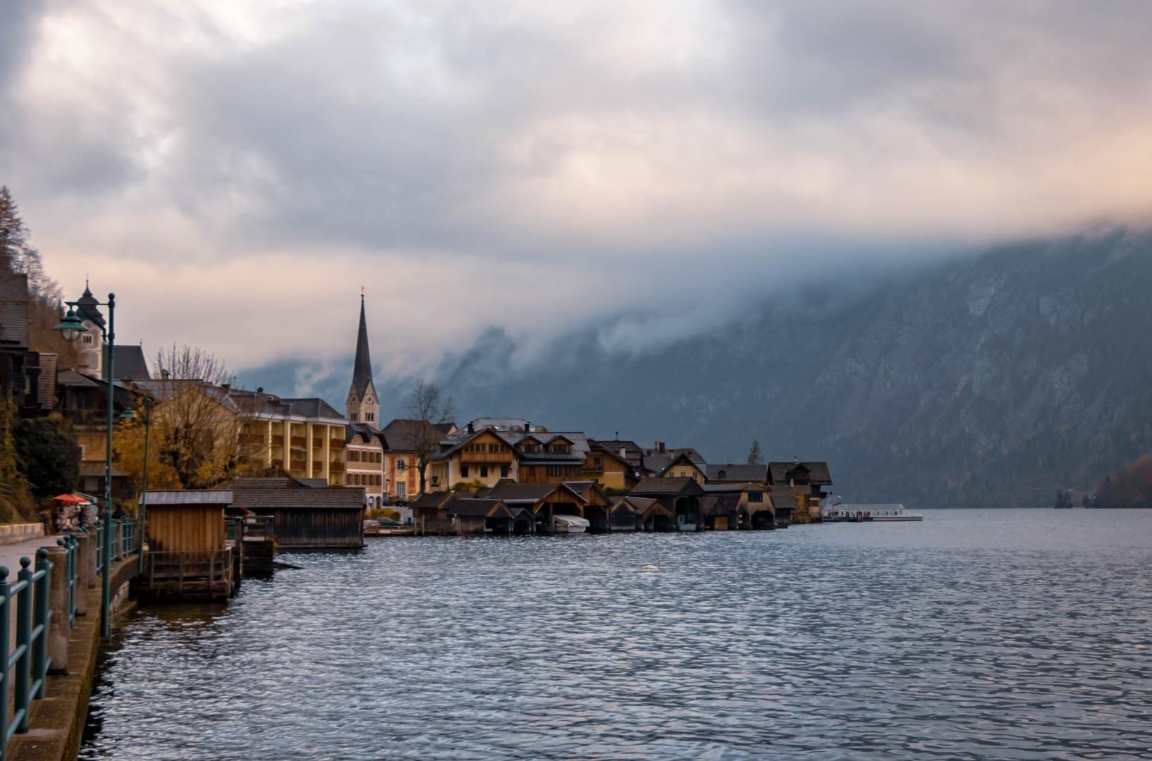 Paisagem Natural/Hallstatt, aldeia de um conto de fadas!! #17