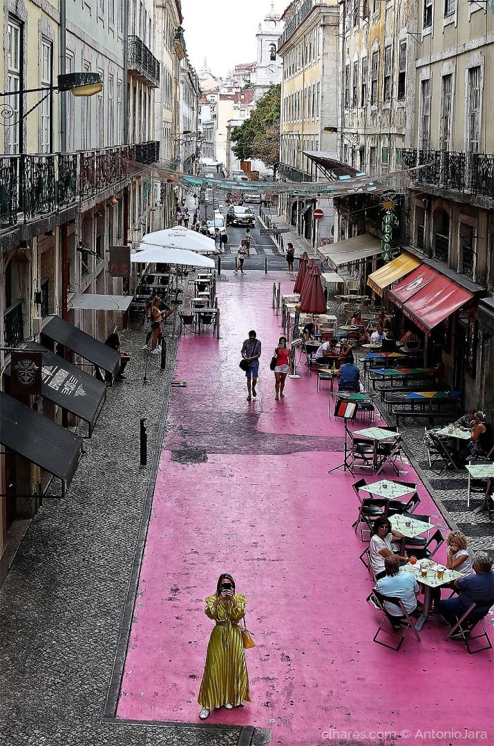 Fotografia de Rua/FOTÓGRAFOS NA RUA COR DE ROSA - LISBOA