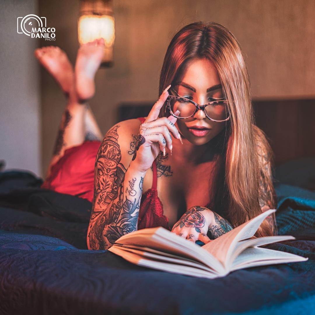 Retratos/Um bom lugar pra ler um livro