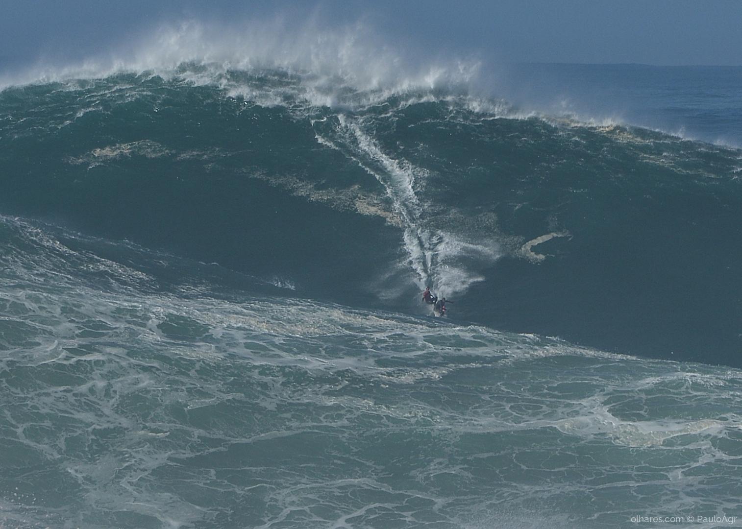 Desporto e Ação/Big waves Nazaré 2020
