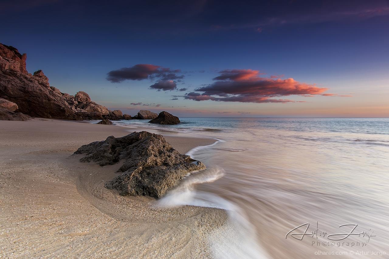 Paisagem Natural/Praia da Califórnia - Sesimbra