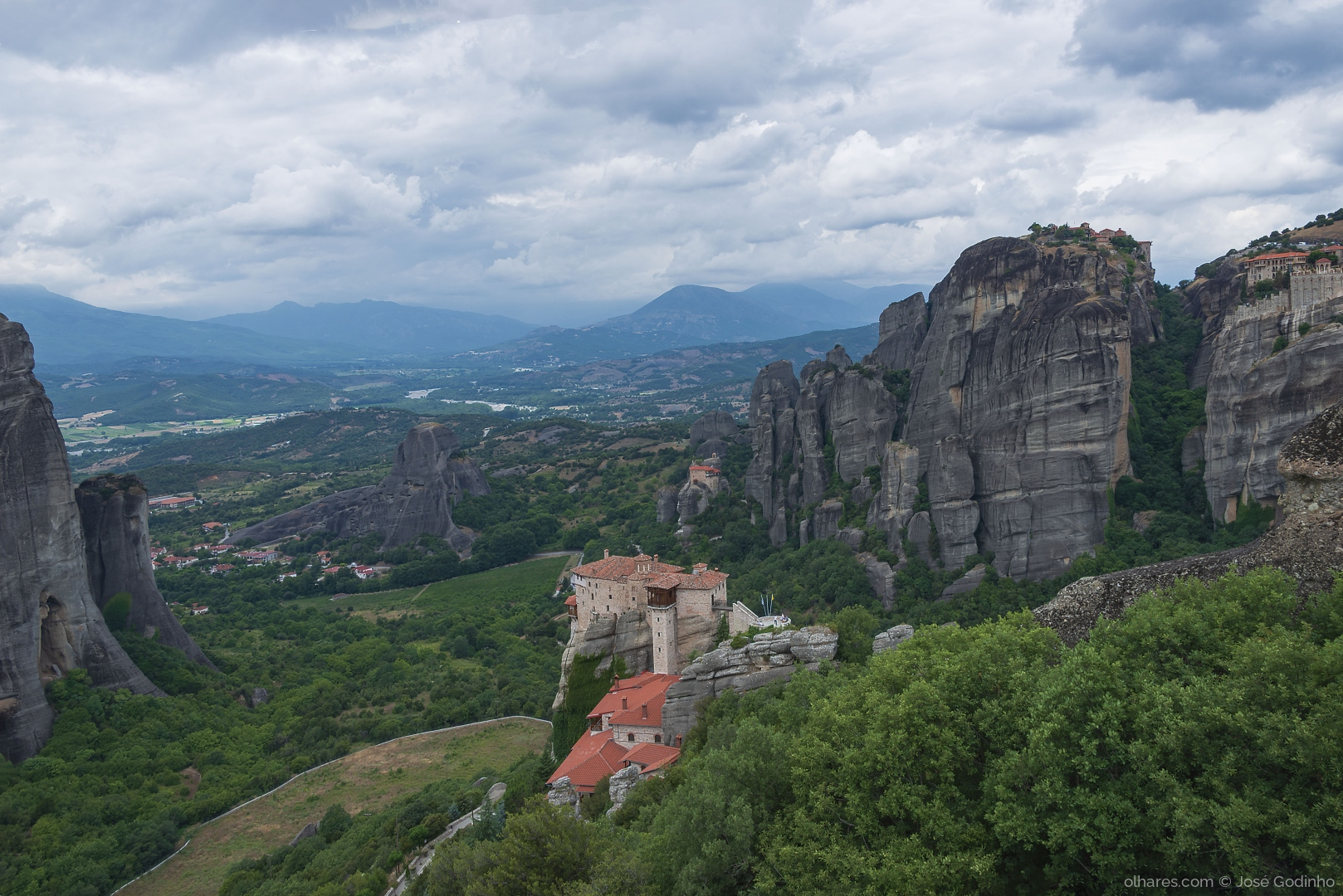 Gentes e Locais/Metéora - Grécia