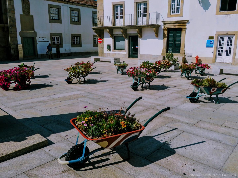 Fotografia de Rua/Floreiras móveis