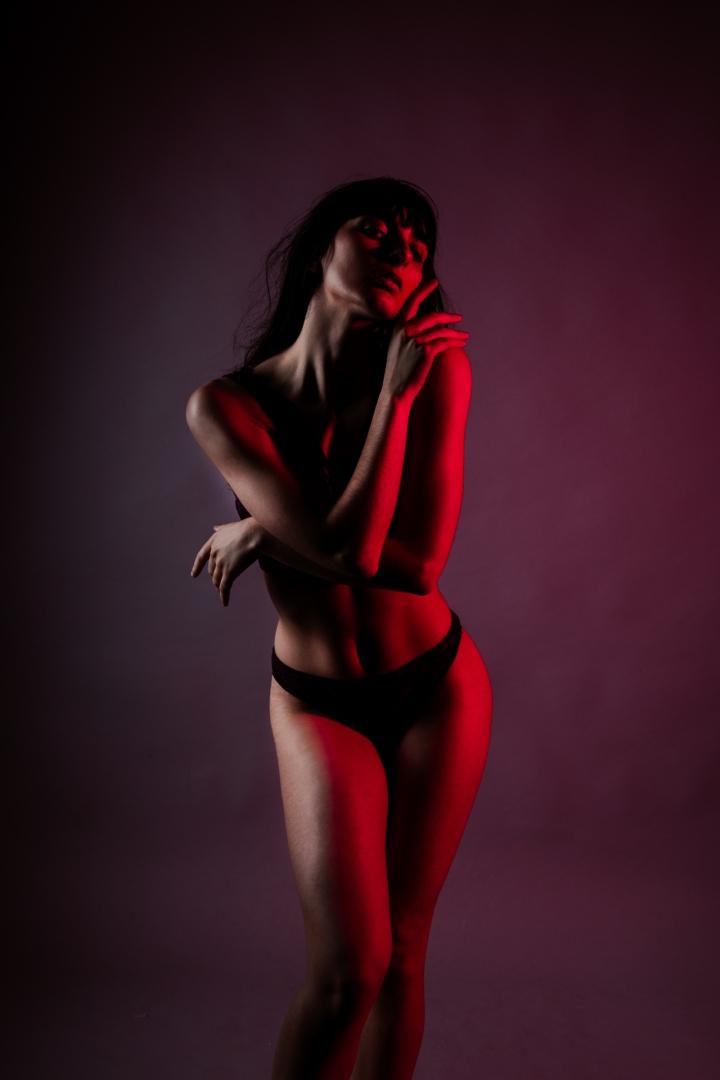 Retratos/red light