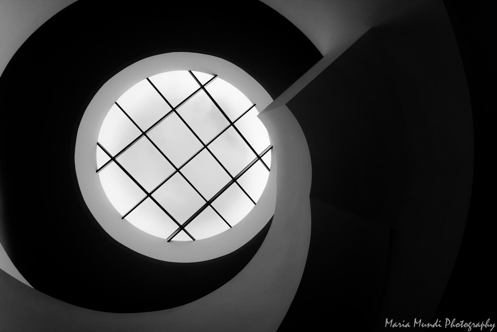 """Arquitetura/a """" roda dentada """" da Escadaria"""