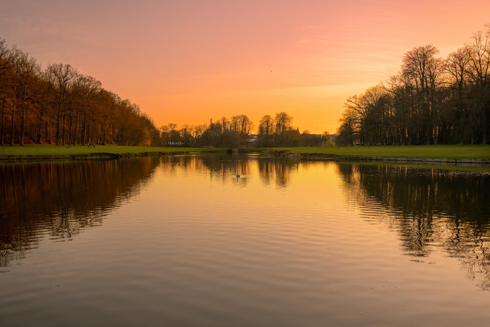 Paisagem Natural/Tervuren Sunset