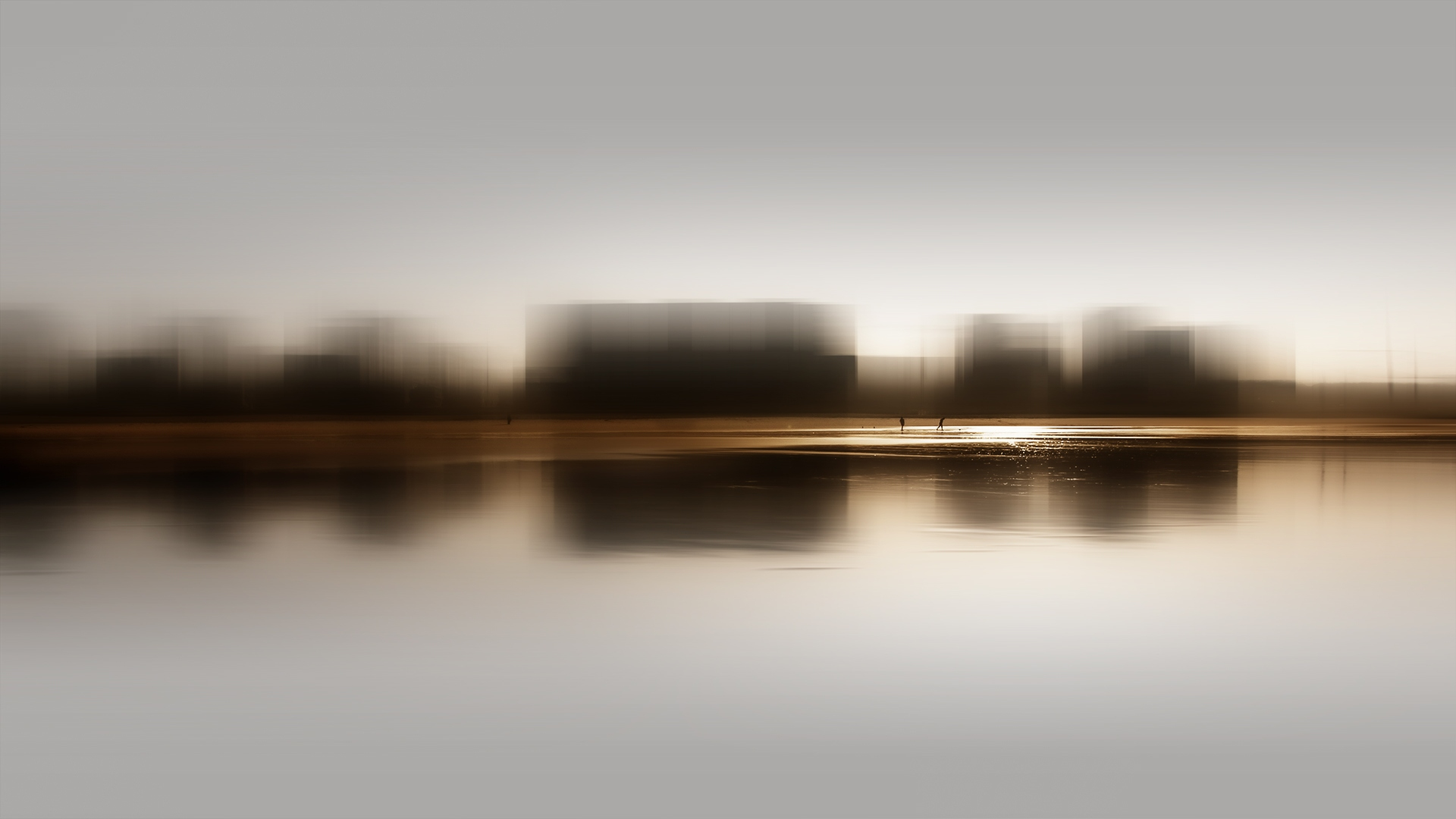 Abstrato/Manhã difusa