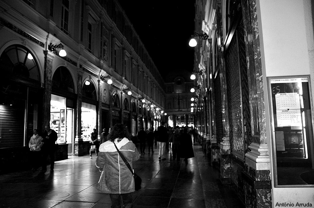 Paisagem Urbana/Bruxelas à Noite
