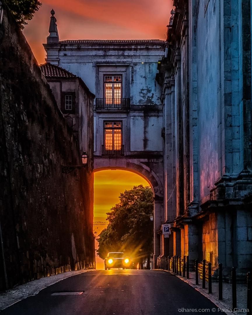 Paisagem Urbana/Quando a cidade acorda pintada...