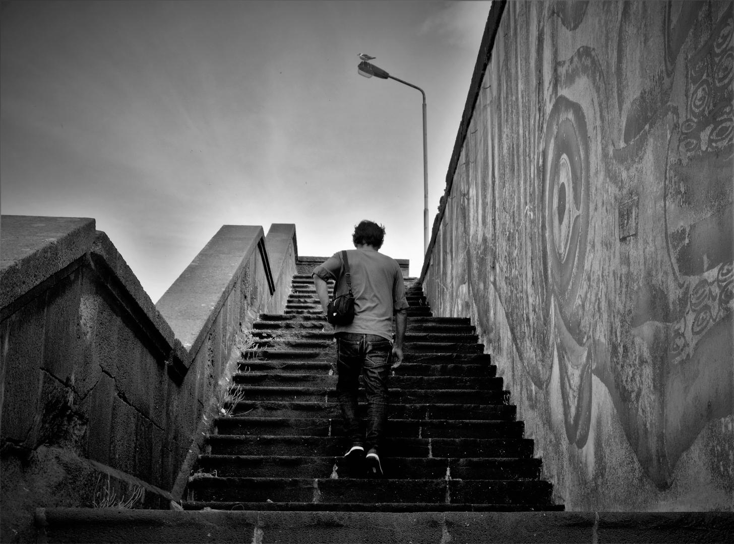 Fotografia de Rua/Stairway to a friend of Freedom in Heaven