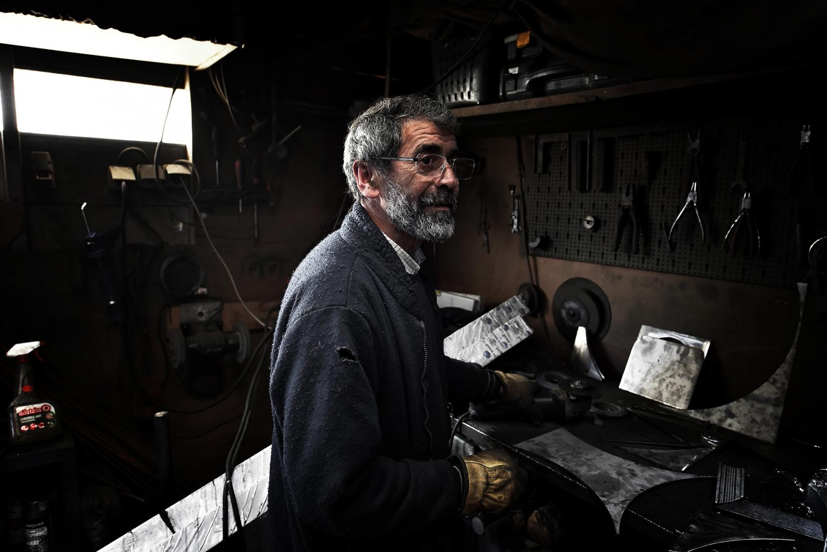Retratos/Dia do Trabalhador: o torneiro