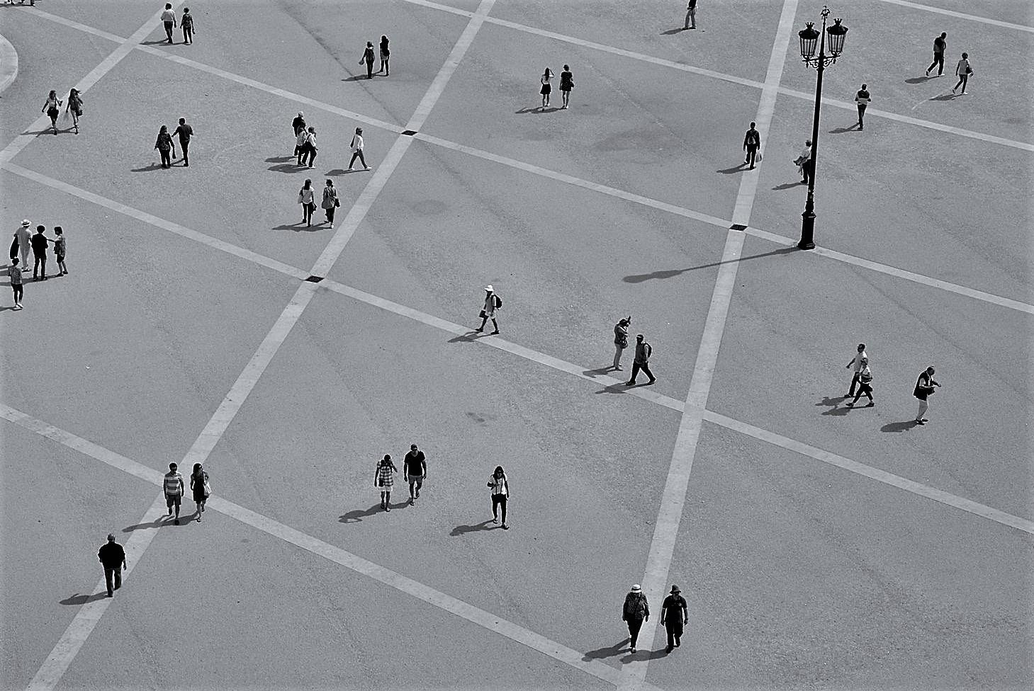 Fotografia de Rua/Na praça