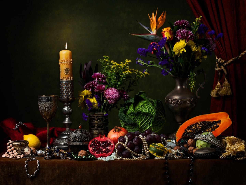 Outros/Natureza Morta  Flores & Perlas