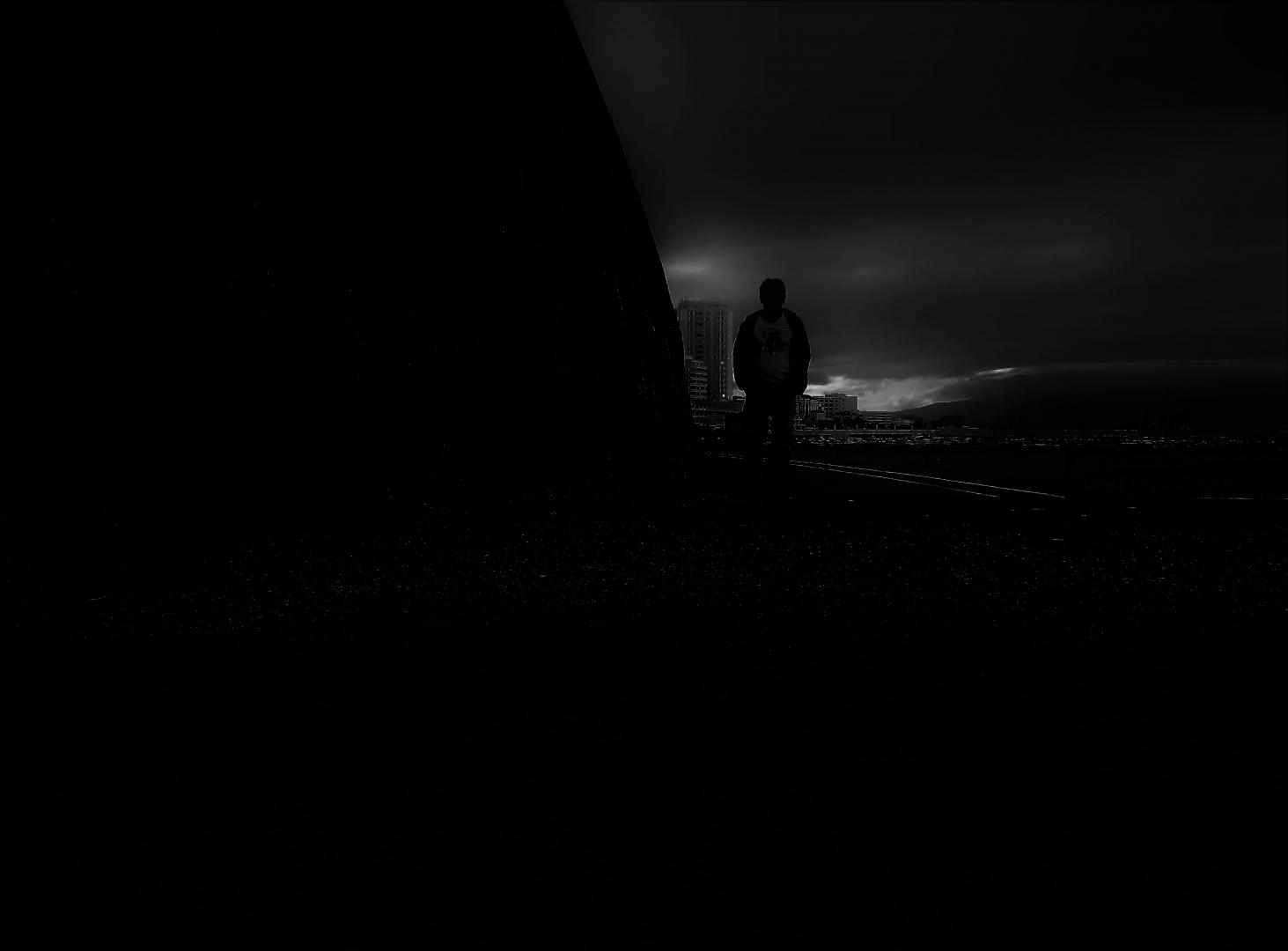 Fotografia de Rua/O misterioso homem da noite