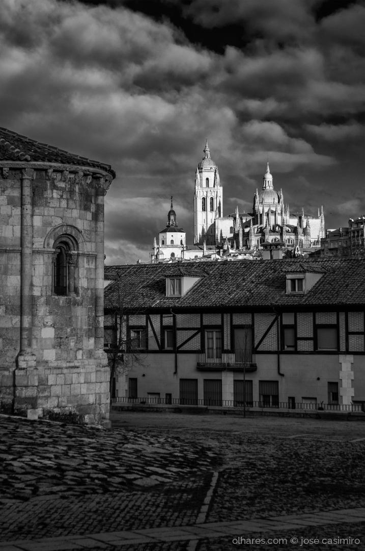 Paisagem Urbana/Em Segóvia, Espanha