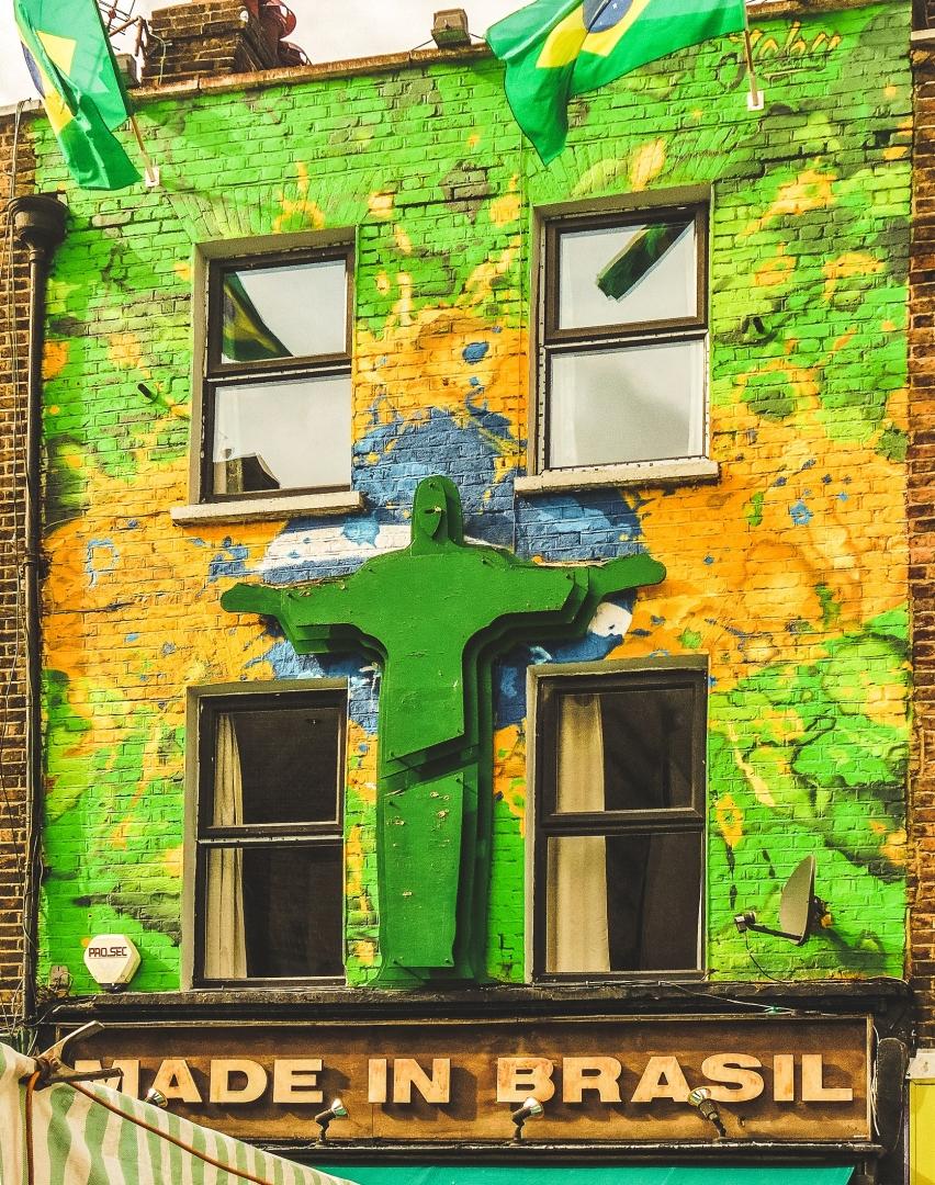 Paisagem Urbana/verde e amarelo