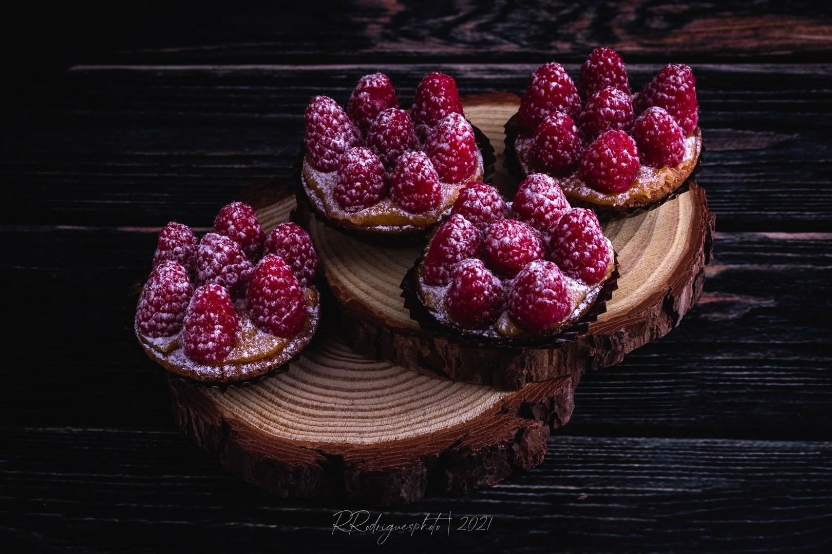Gastronomia/Bolo de Framboesa