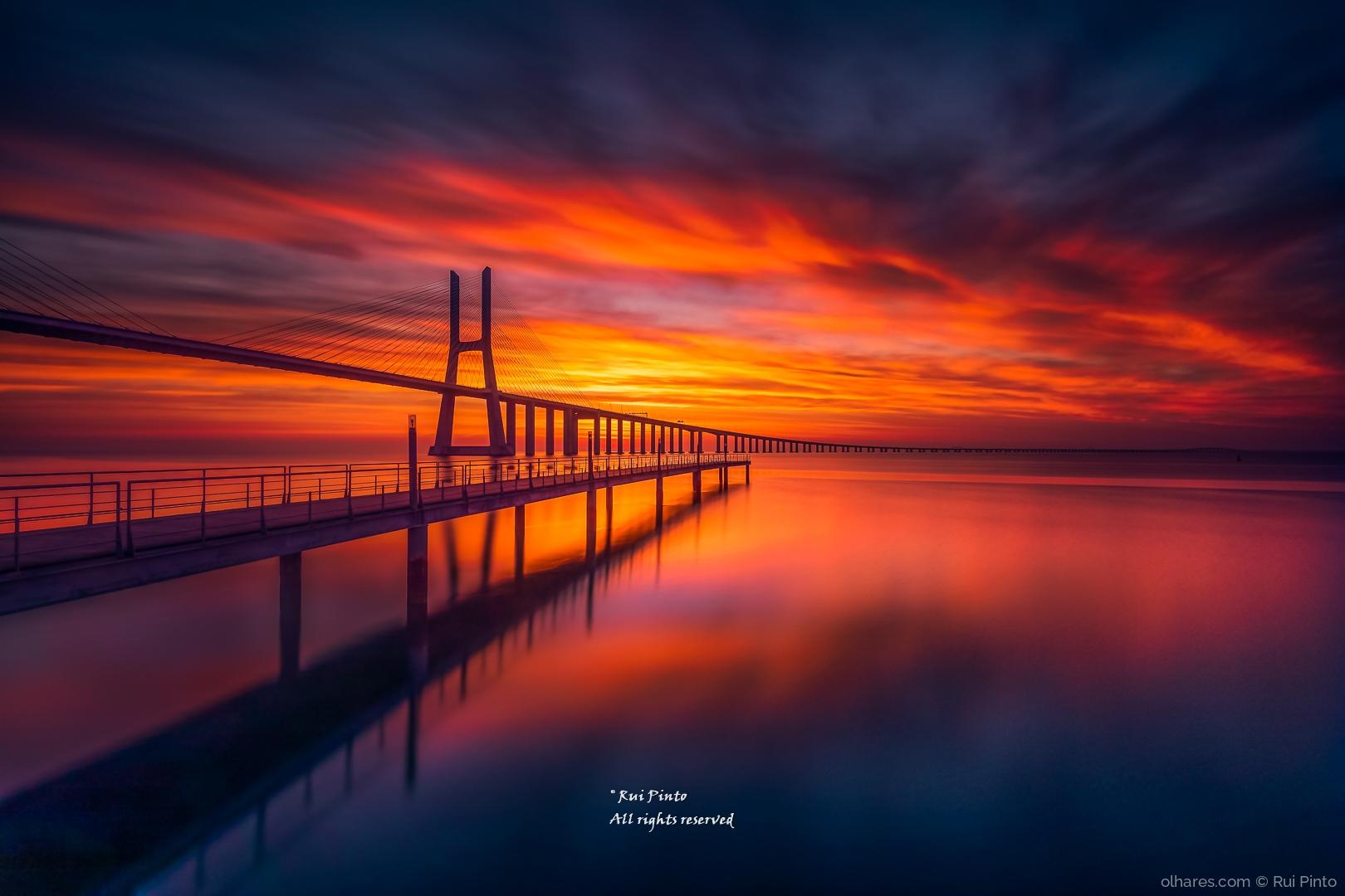 """Paisagem Natural/""""A ponte é uma passagem"""""""