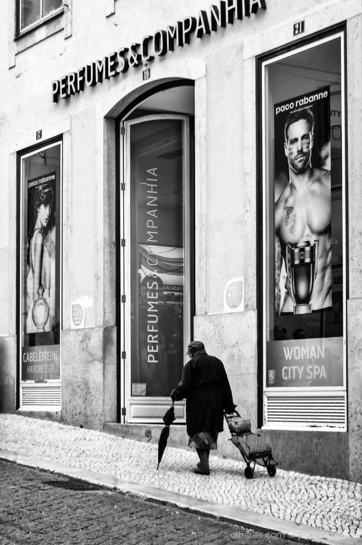 Fotografia de Rua/Em Lisboa, na Rua do Carmo