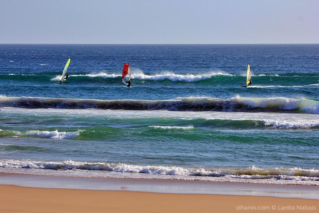 Desporto e Ação/WINDSURF NA COSTA DA CAPARICA
