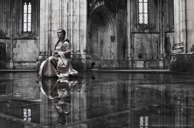 Retratos/rainha de espadas