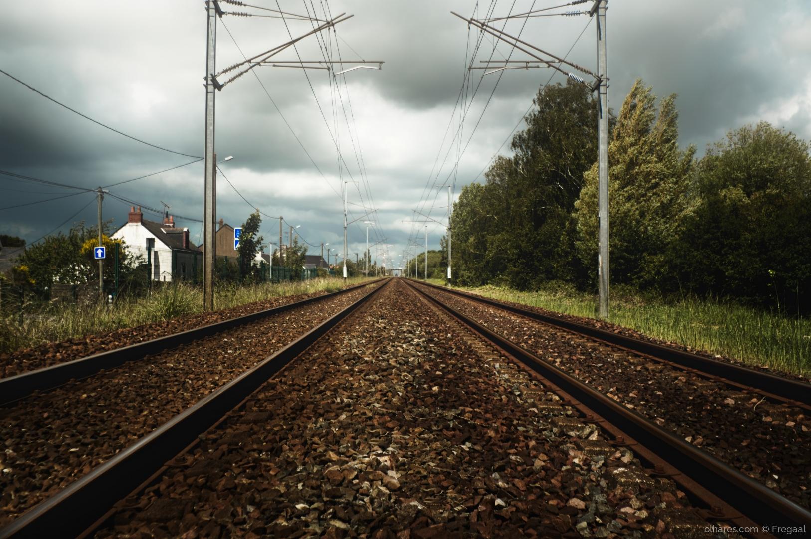 Fotografia de Rua/Caminho de Ferro