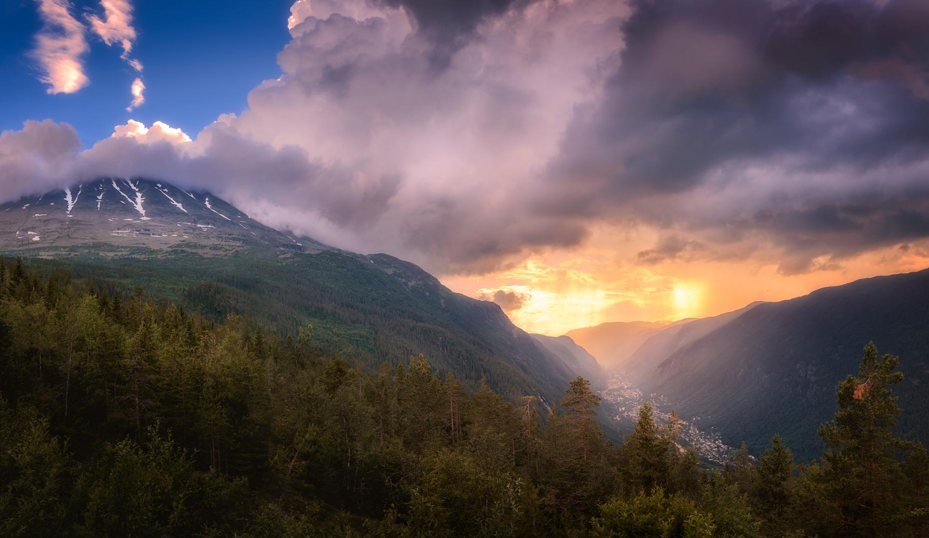 Paisagem Natural/A Montanha e o Vale