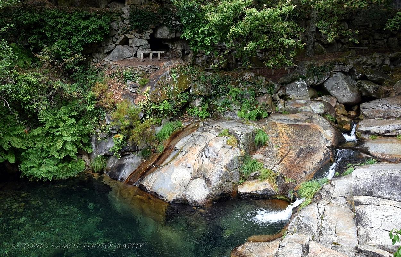Paisagem Natural/Poço Azul – São Pedro do Sul     (Leia o texto p.f