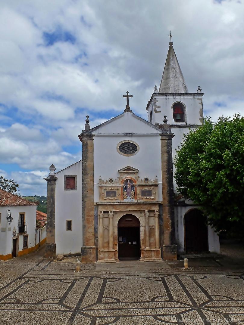 Arquitetura/Igreja de Santa Maria - Óbidos